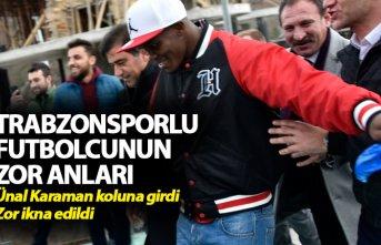 Trabzonsporlu futbolcuların zor anları