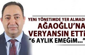 Ahmet Ağaoğlu'na eski yöneticisinden veryasın:...