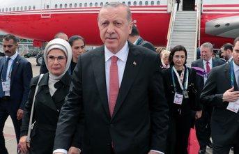 Recep Tayyip Erdoğan Mauricio Macri tarafından karşılandı