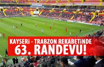 Trabzonspor ile Kayserispor 63. kez