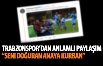 Trabzonspor'dan anlamlı Ekuban paylaşımı