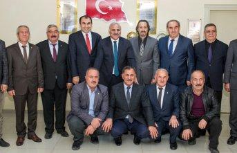 Murat Zorluoğlu veda ziyaretlerini sürdürüyor