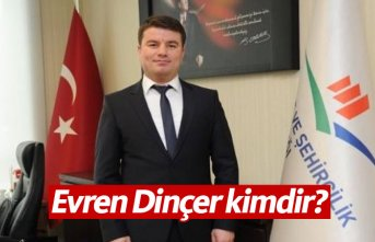 AK Parti Aksaray Belediye Başkan Adayı Evren Dinçer...