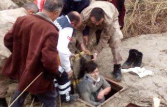 Kaybolan yaşlı kadın su kuyusunda bulundu