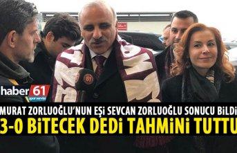 Murat Zorluoğlu'nun eşi skoru bildi