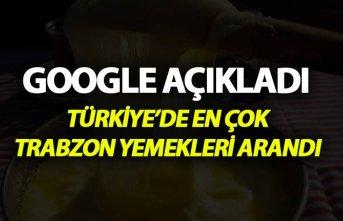 Türkiye Google'da en çok Trabzon yemeklerini...
