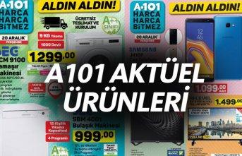 A101 Aktüel Ürünleri 20 Aralık kataloğu - A101'de...