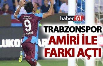 Trabzonspor Amiri ile farkı açtı