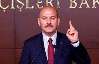 İçişleri Bakanı Soylu ülkesine dönen Suriyelilerin...