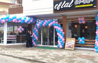 Trabzon'da Eflal Cafe açıldı