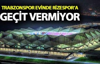 Trabzonspor Rizespor'a geçit vermiyor