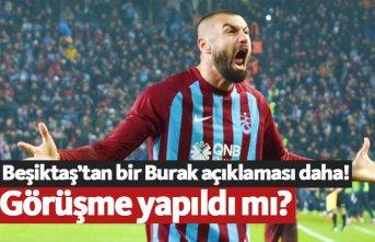 Beşiktaş'tan bir Burak Yılmaz açıklaması...