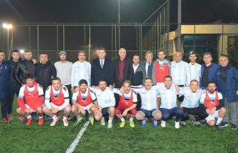 Trabzon'da Öğretmenler Arası Futbol Turnuvası