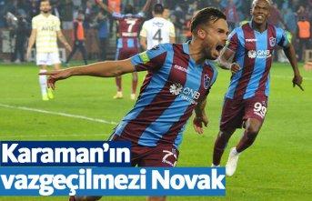 Trabzonspor'da Novak vazgeçilmez oldu