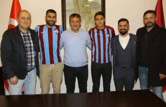 1461 Trabzon'un yeni transferleri imzayı attı