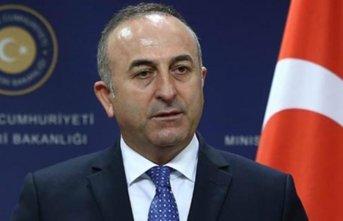 Dışişleri Bakanı Çavuşoğlu'ndan önemli...