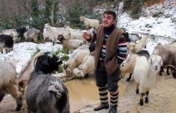 Rizeli çobanı türküleri meşhur etti