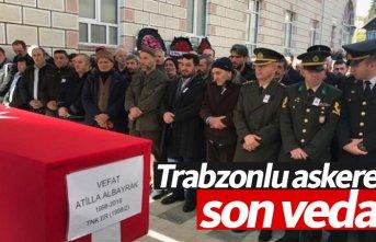 Trabzonlu askere son veda