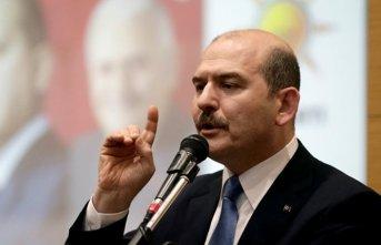 Süleyman Soylu Yüksekova'da