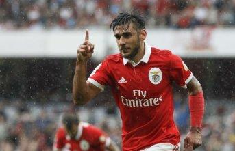 Salvio 2022'ye kadar Benfica'da!