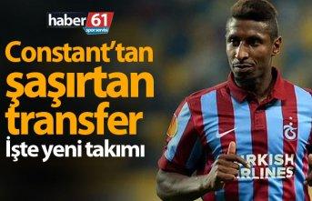 Eski Trabzonsporlu Constant transfer oldu