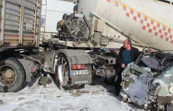 10 araç birbirine girdi 1 kişi öldü