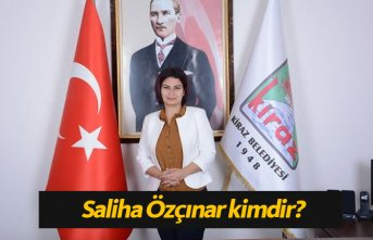 AK Parti Kiraz Belediye Başkan Adayı Saliha Özçınar...