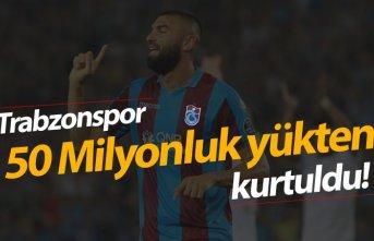 Trabzonspor 50 Milyonluk yükten kurtuldu