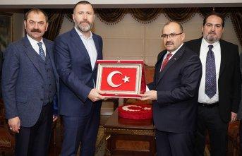Trabzonspor'dan çifte ziyaret