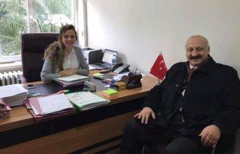 Başkan Çebi'den yeni hakime ziyaret