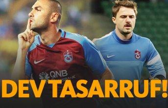 Trabzonspor'dan 42 milyonluk tasarruf