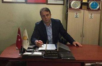 AK Parti Hayrat Belediye Başkan Adayı Salih Öztel...
