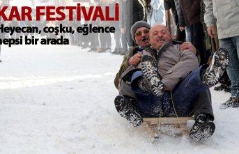 Giresun'da Kar Festivali düzenlendi
