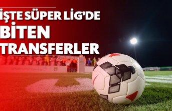 İşte Süper Lig'de biten transferler!