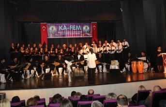 KA-FEM'den türkü ziyafeti