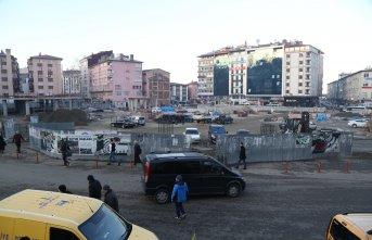 Rize Meydan Projesi'nde sona yaklaşıldı