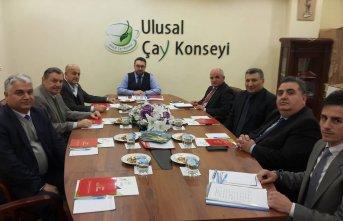Çay konseyi Rize'de toplandı