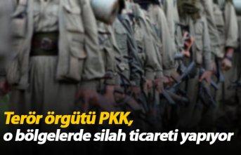 Terör örgütü PKK o bölgelerde silah ticareti...