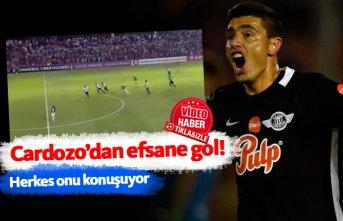 Oscar Cardozo'dan efsane gol!