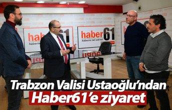Trabzon Valisi Ustaoğlu'ndan Haber61'e...