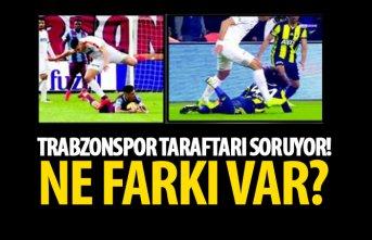 Trabzonspor taraftarı soruyor! Ne farkı var?