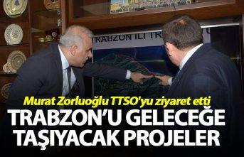 Murat Zorluoğlu TTSO'yu ziyaret etti