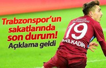 Trabzonspor'da sakatların son durumu nasıl? Açıklama geldi