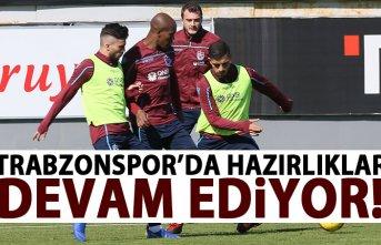 Trabzonspor - Gözatepe maçı hazırlıkları