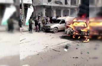 Afrin'de bomba yüklü araçla saldırı: 2 ölü, 23 yaralı
