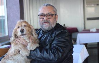Bir haftalık gelirini felçli hayvanlara bağışladı