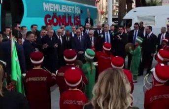 Erdoğan'a minik mehteranlardan sürpriz