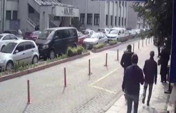 Gazeteciye silahlı saldırı kamerada