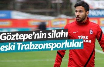 Göztepe'nin silahı eski Trabzonsporlular