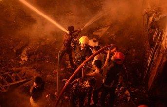 Korkunç yangın: 69 kişi hayatını kaybetti!